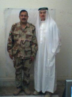 Acosta of Iraq (Me & my Iraqi counterpart)